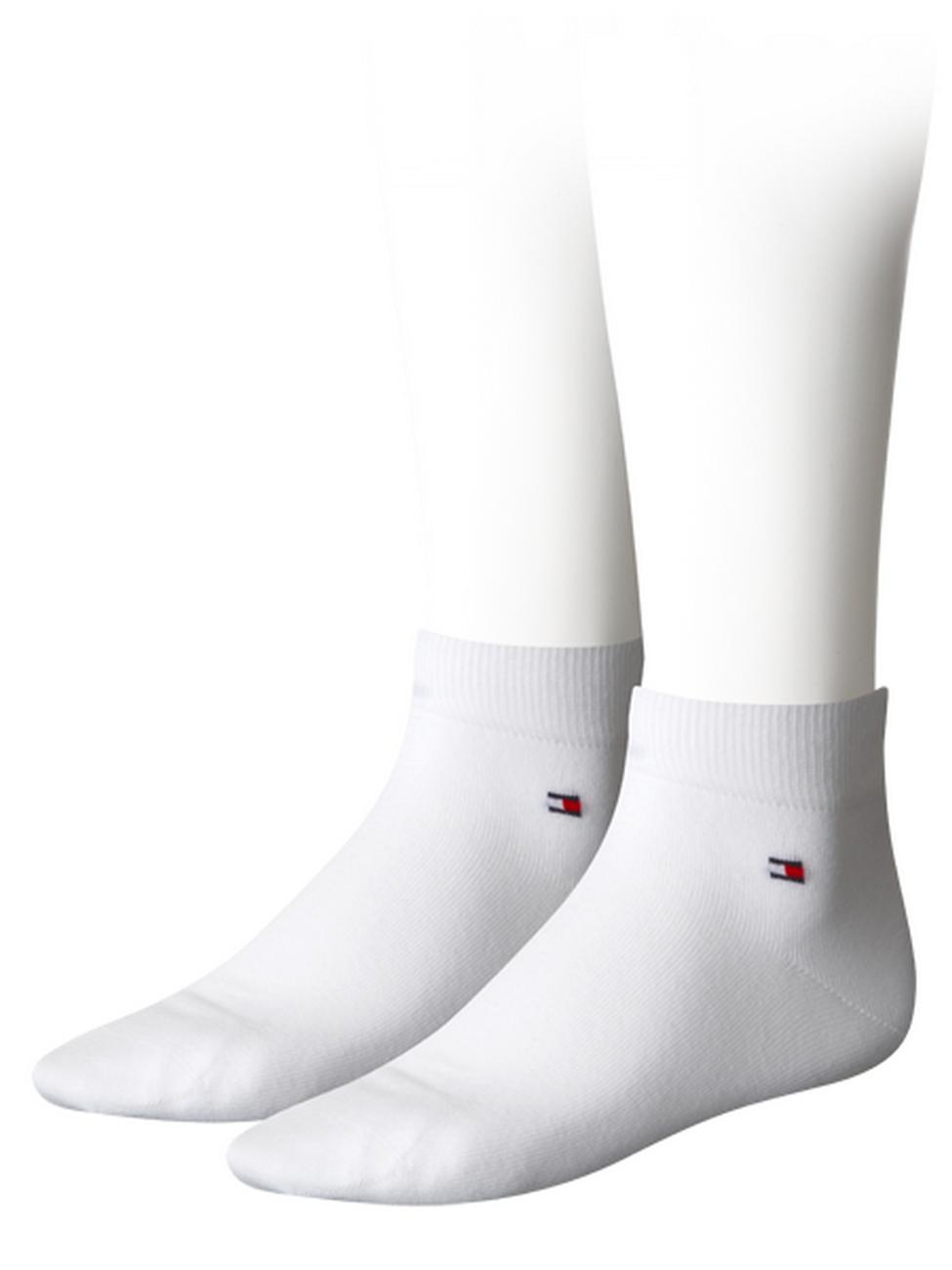 Tommy Hilfiger Herren Quarter Socken Flag - 2er Pack