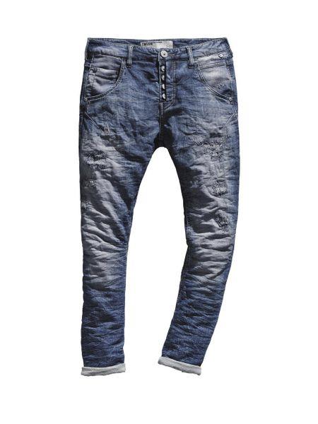 Timezone Damen Jeans RivaTZ - Slim Fit - Industry Wash