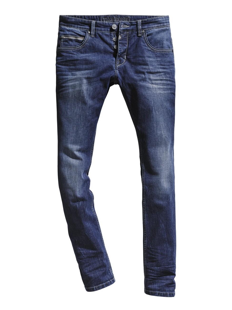Timezone Herren Jeans EdoTZ - Slim Fit - Surfer Wash