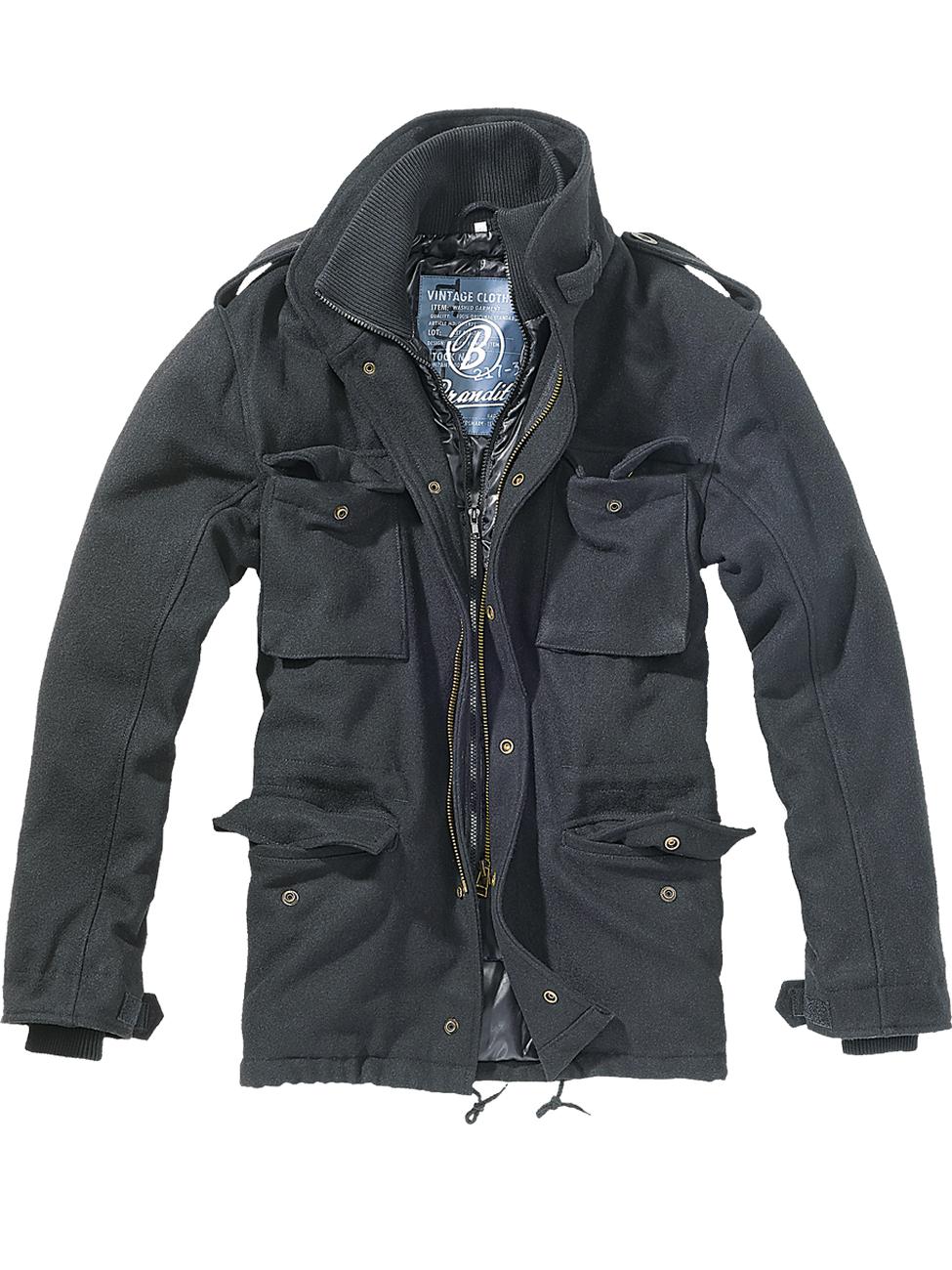 Brandit Herren Jacke M-65 Voyager Wool