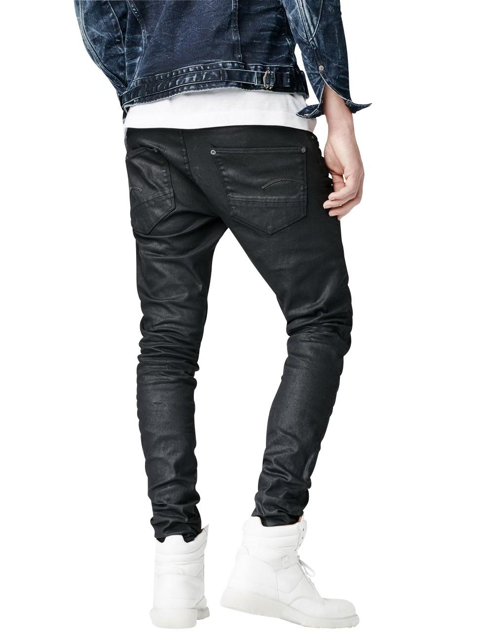 G-Star Herren Jeans Revend - Super Slim Fit - 3D Dark Aged