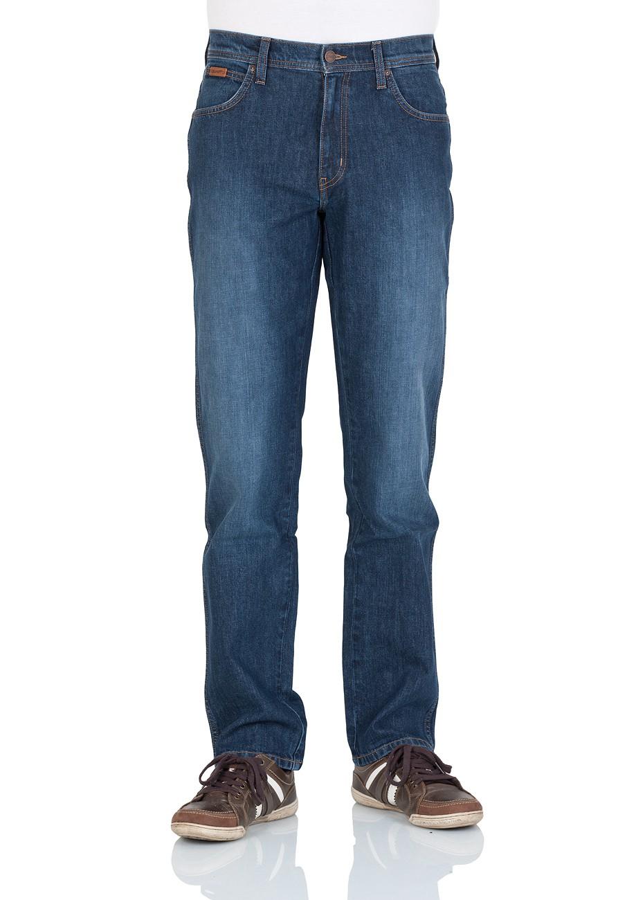 Wrangler Herren Jeans Texas Stretch - Regular Fit - Blue Times - Fine Blues - New Blue - True Blues - Smouky - Still Water - Black Tones