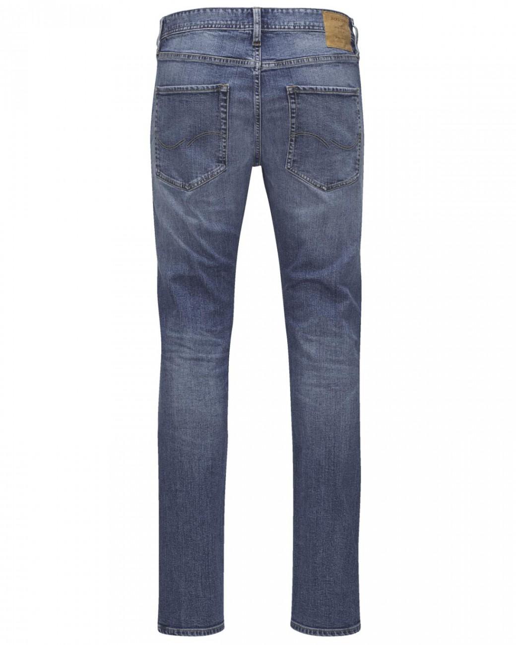 Jack & Jones Herren Jeans JJITIM JJORIGINAL AKM 765  - Slim Fit - Blau