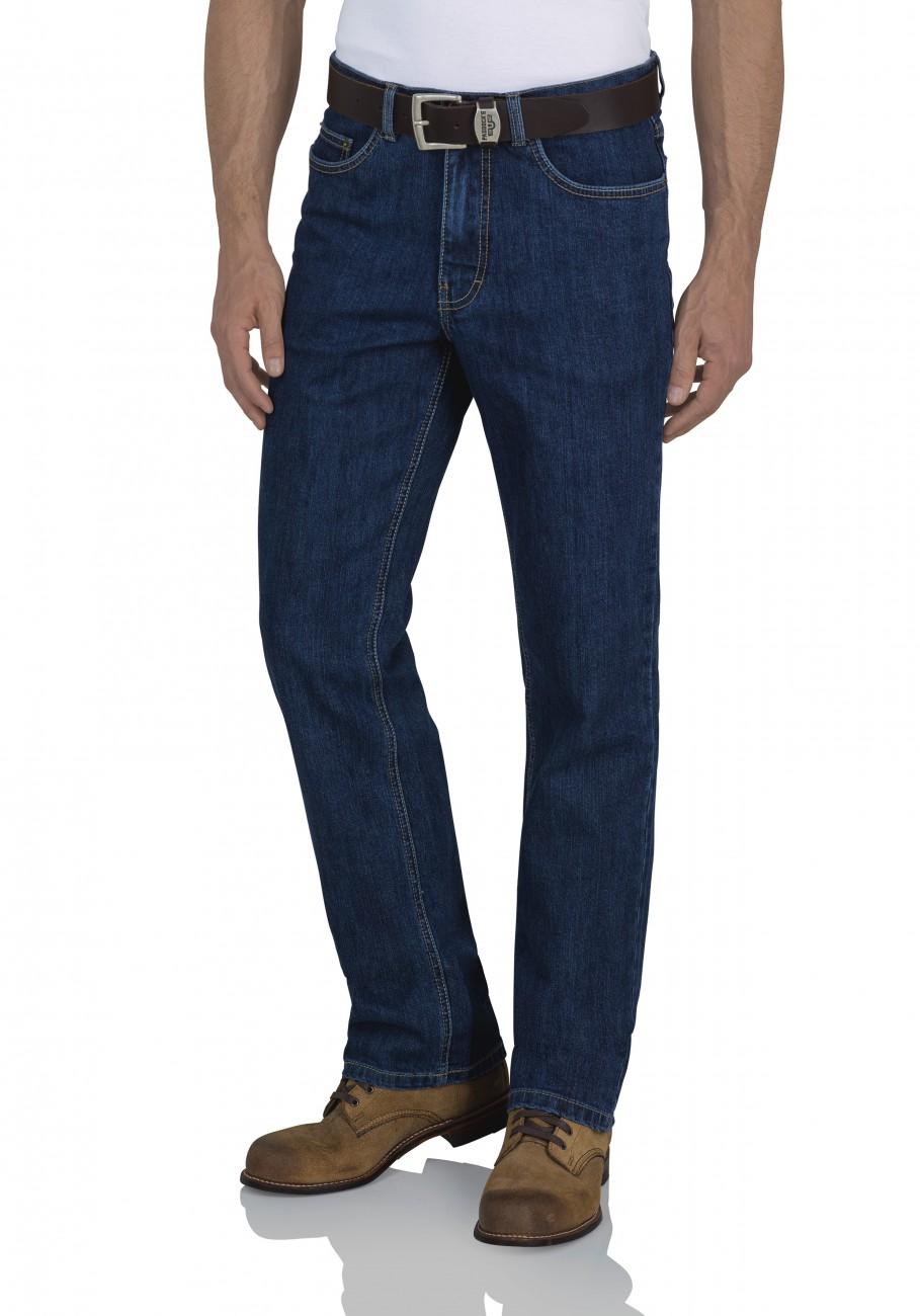 Paddock`s Herren Jeans Ranger - Slim Fit - Blau - Dark Blue Stone