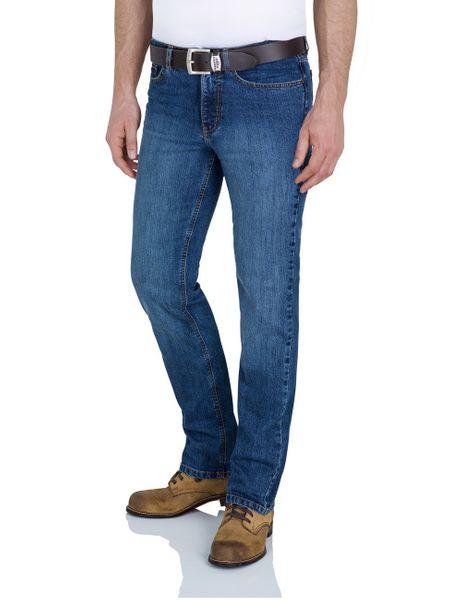 Paddock`s Herren Jeans Ranger - Slim Fit - Blau - Blue Medium Stone Used