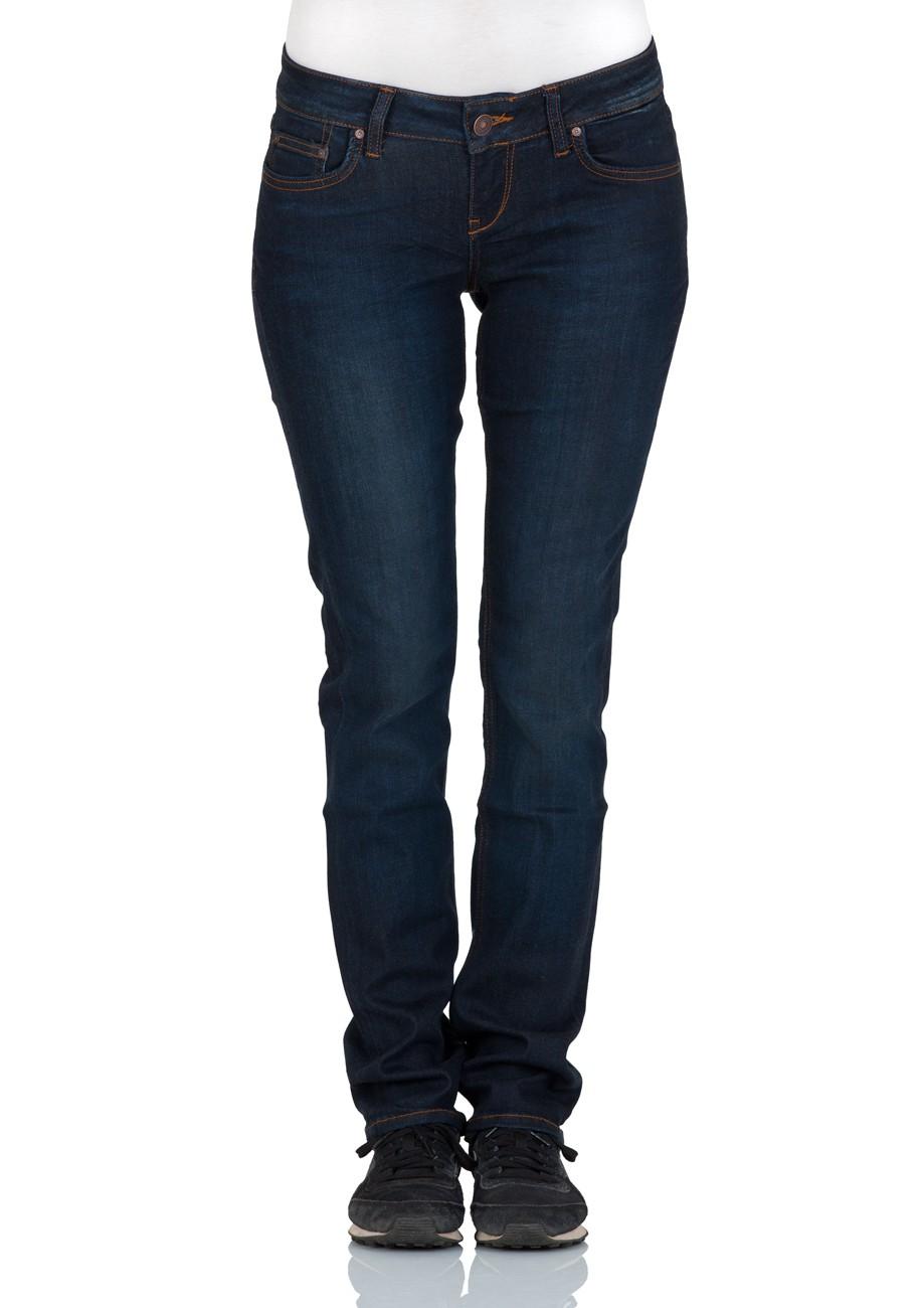 LTB Damen Jeans Aspen Regular Slim Straight  - Blau - Neola Wash