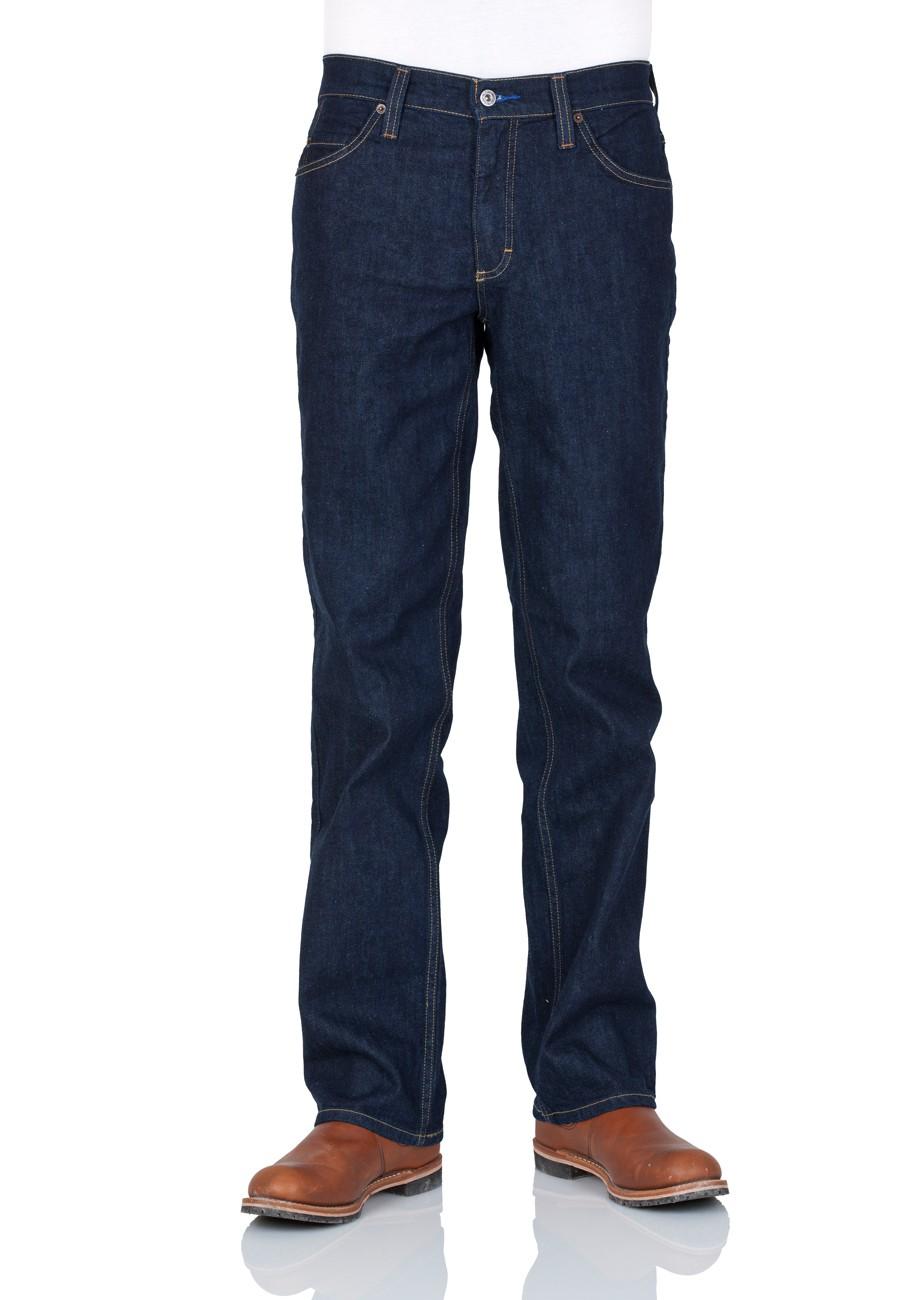 Mustang Herren Jeans Tramper Slim Fit - Blau - Rinse Washed