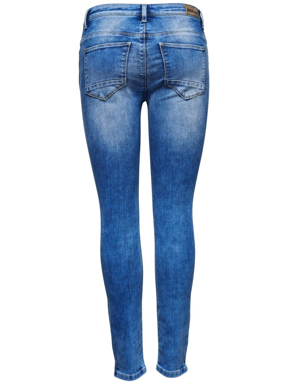 Only Damen Jeans onlKENDELL - Skinny Fit - Blau - Light Blue Denim