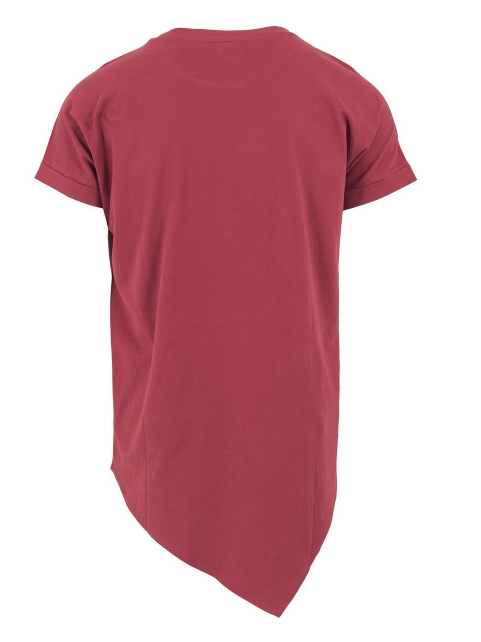 Urban Classics Herren Asymetric Long T-Shirt