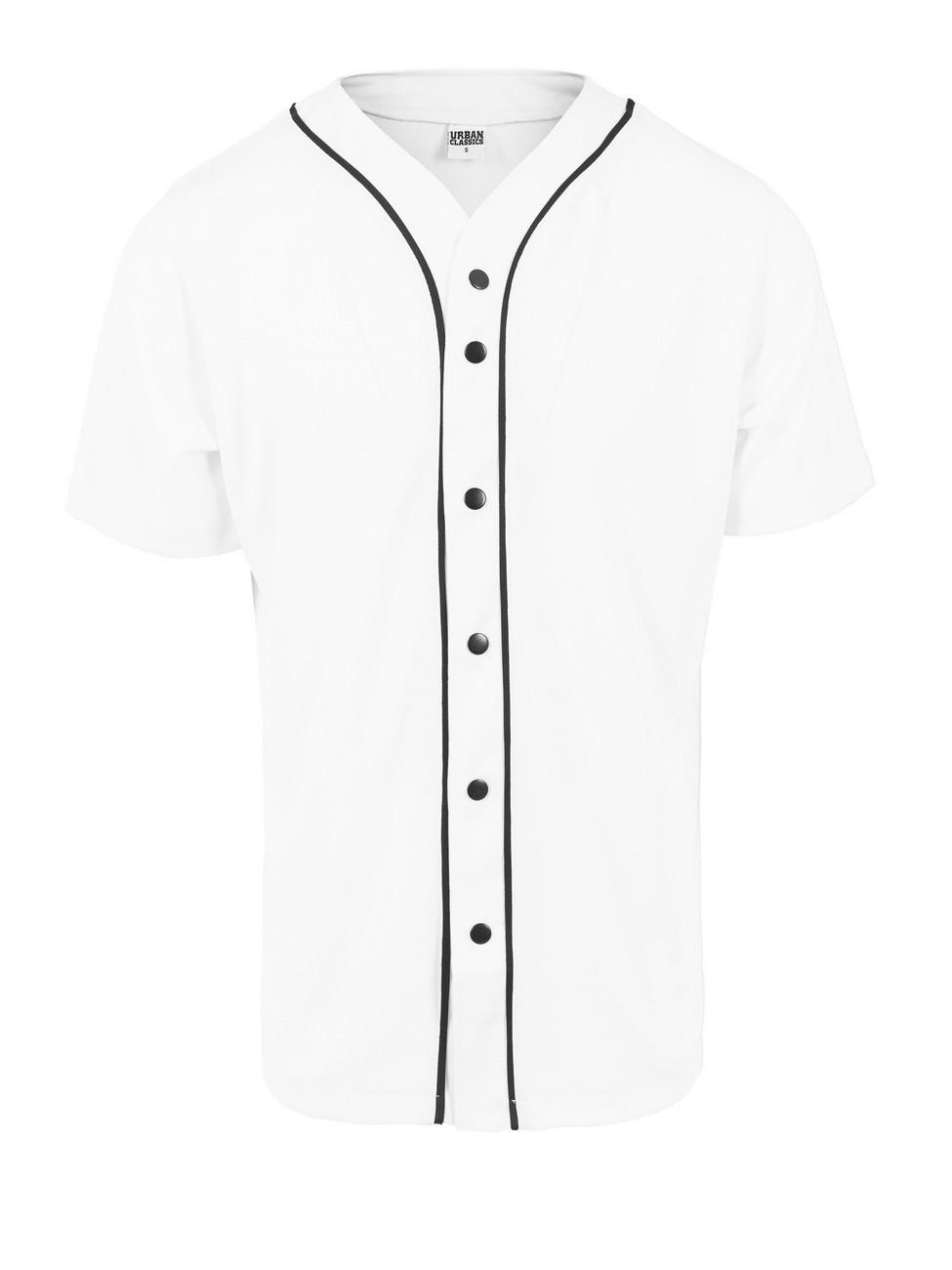 Urban Classics Herren Baseball Mesh Jersey Hemd