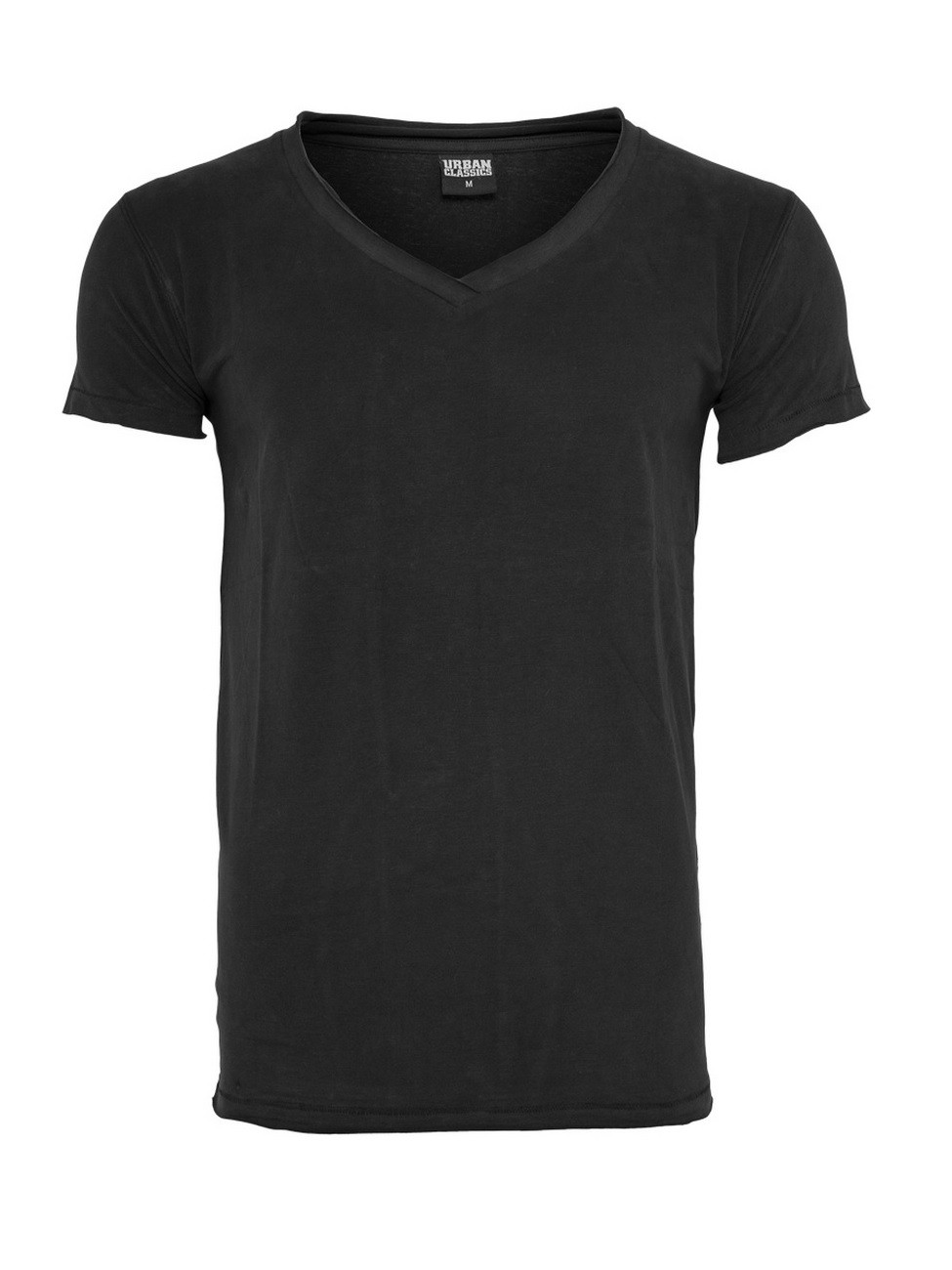 urban-classics-herren-fitted-peached-open-edge-v-neck-t-shirt