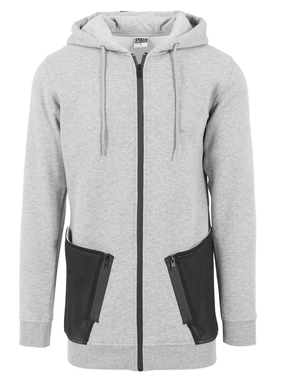 urban-classics-herren-sweatjacket-long-peached-tech-zip-hoody