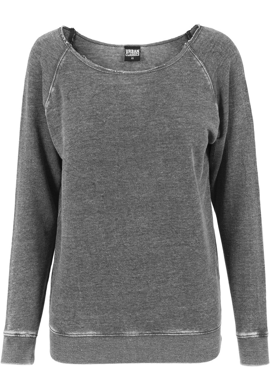 Urban Classics Ladies Sweater Burnout Open Edge Crew kaufen - JEANS ... 6689555b48