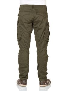 G-Star Herren Cargo Hose Rovic Zip 3D Tapered - Grün - Dark Bronze Green b44097ed55