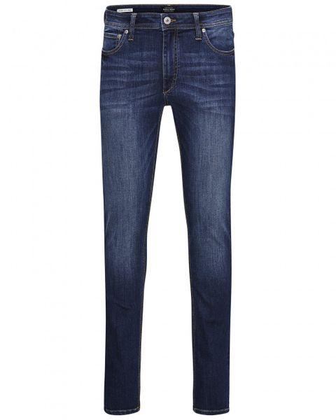 Jack & Jones Herren Jeans JJILIAM JJORIGINAL AM 014 LID - Skinny Fit - Blau - Blue Denim