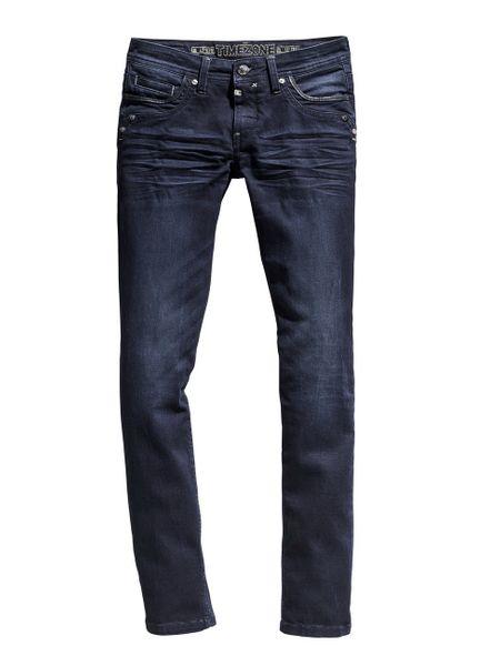 Timezone Damen Jeans TahilaTZ - Slim Fit - Blau - Noble Blue Wash