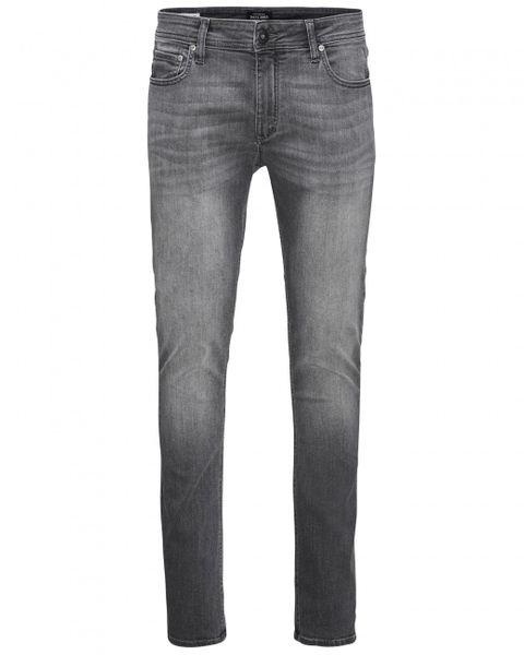 Jack & Jones Herren Jeans JJILIAM JJORIGINAL AM 010 LID - Skinny Fit - Grau - Grey Denim
