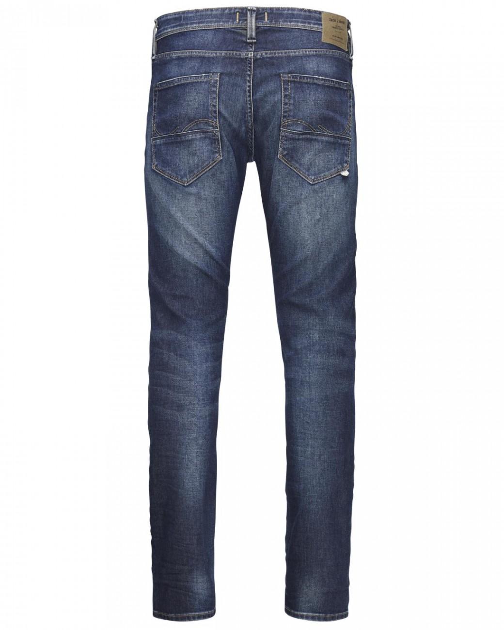 jack-jones-herren-jeans-jjiglenn-jjfox-bl-669-indigo-knit-slim-fit-blau-blue-denim