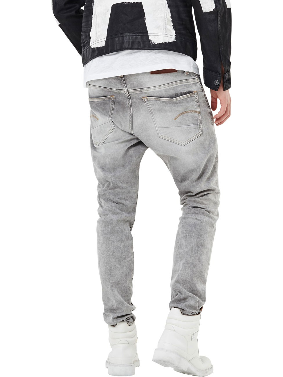 g-star-herren-jeans-3301-tapered-fit-grau-kamden-grey
