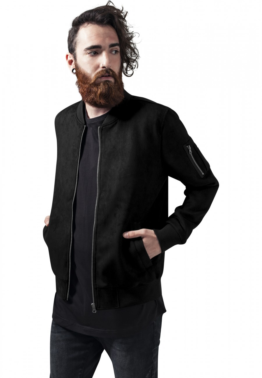 urban-classics-herren-jacke-imitation-suede-bomber-jacket