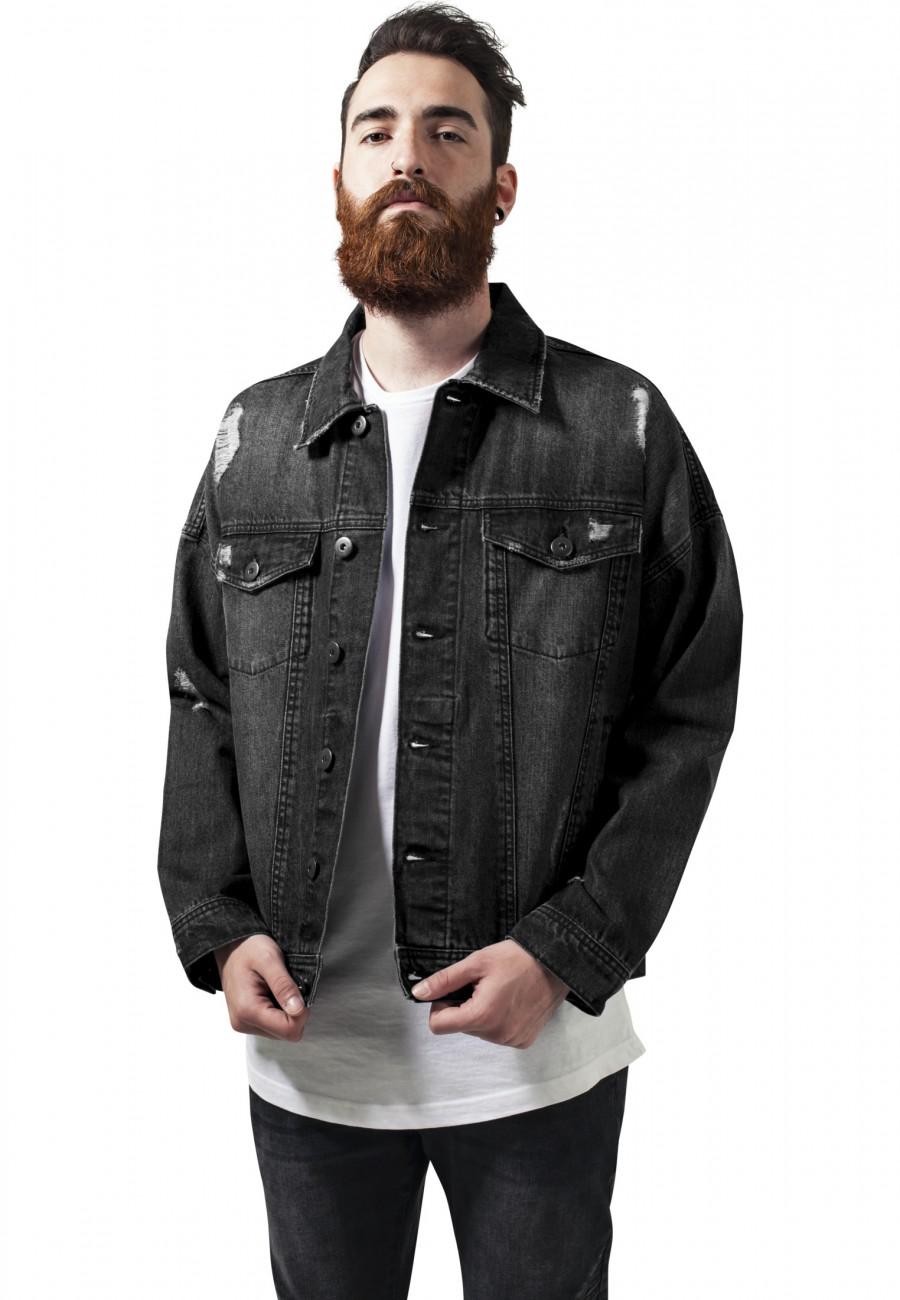 urban-classics-herren-jeansjacke-ripped-denim-jacket