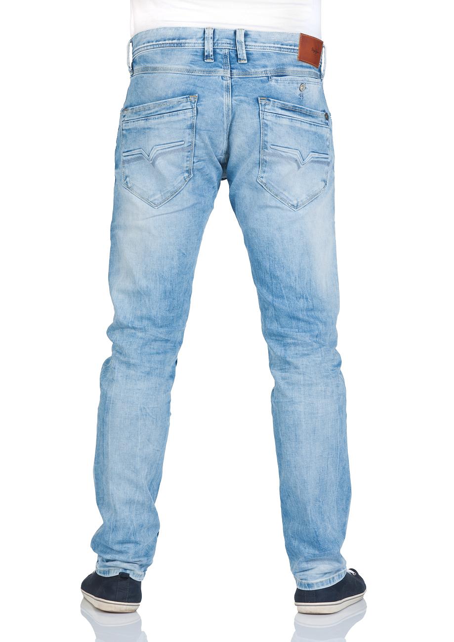 pepe jeans herren jeans spike slim fit vintage 8 dip. Black Bedroom Furniture Sets. Home Design Ideas