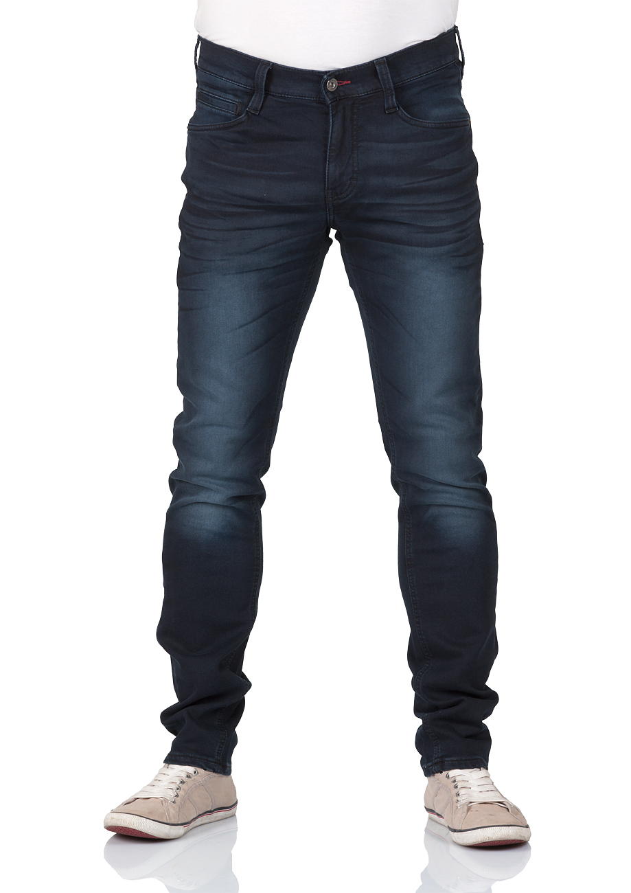 Mustang Herren Jeans Oregon - Tapered Fit - Blau - Dark Blue kaufen ... 15fc77a759