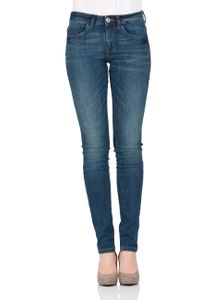 Tom Tailor Damen Jeans Skinny Alexa - Skinny Fit - Blau - Dark Stone Wash 1b3360765f