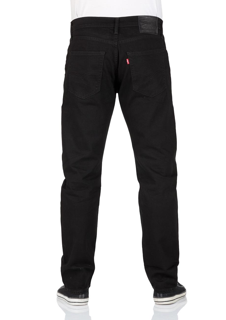 Levis® Herren Jeans 502™ Regular Taper Schwarz Nightshine
