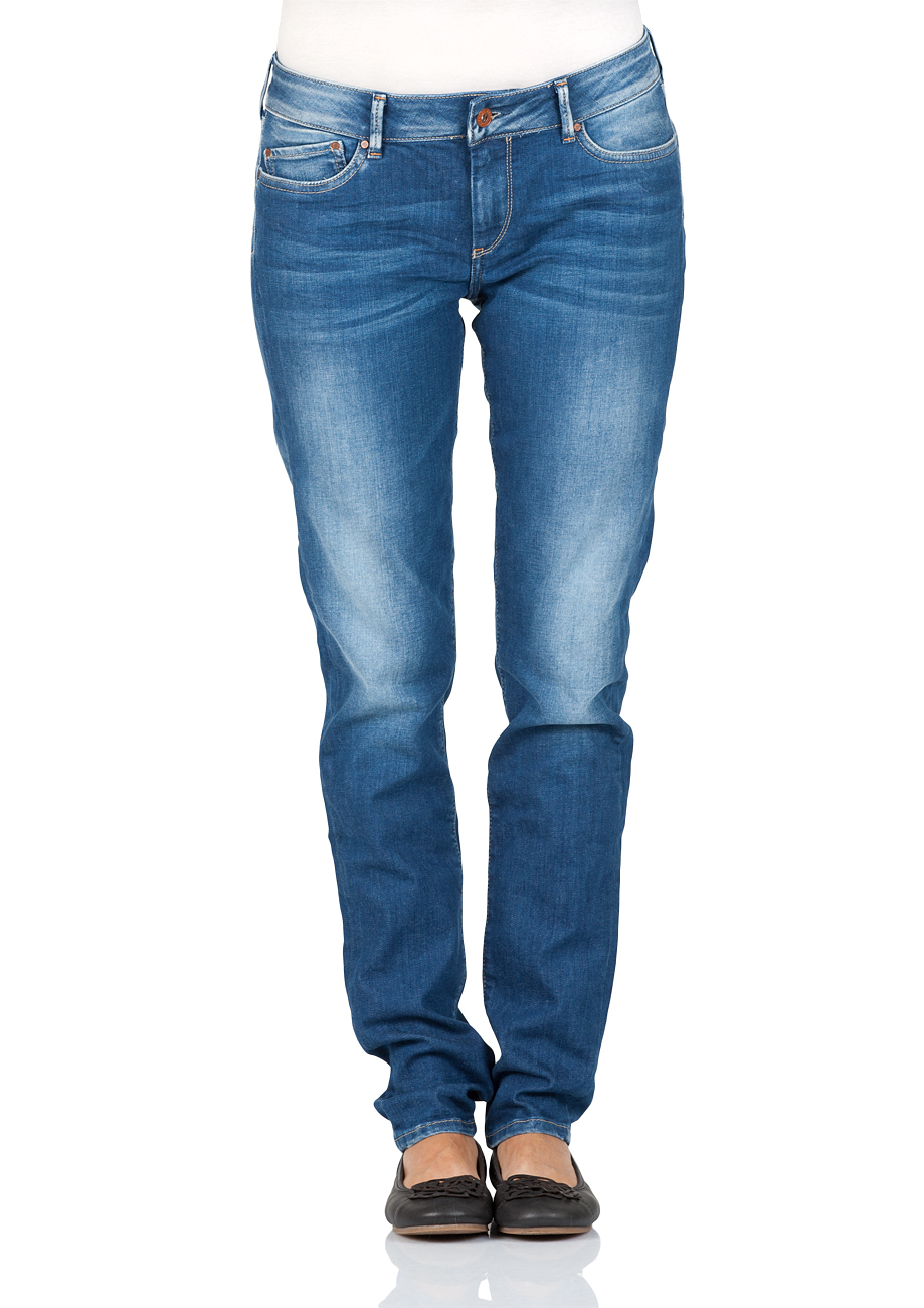 Pepe Jeans London Damen Jeans Pixie Skinny Fit Blau Denim