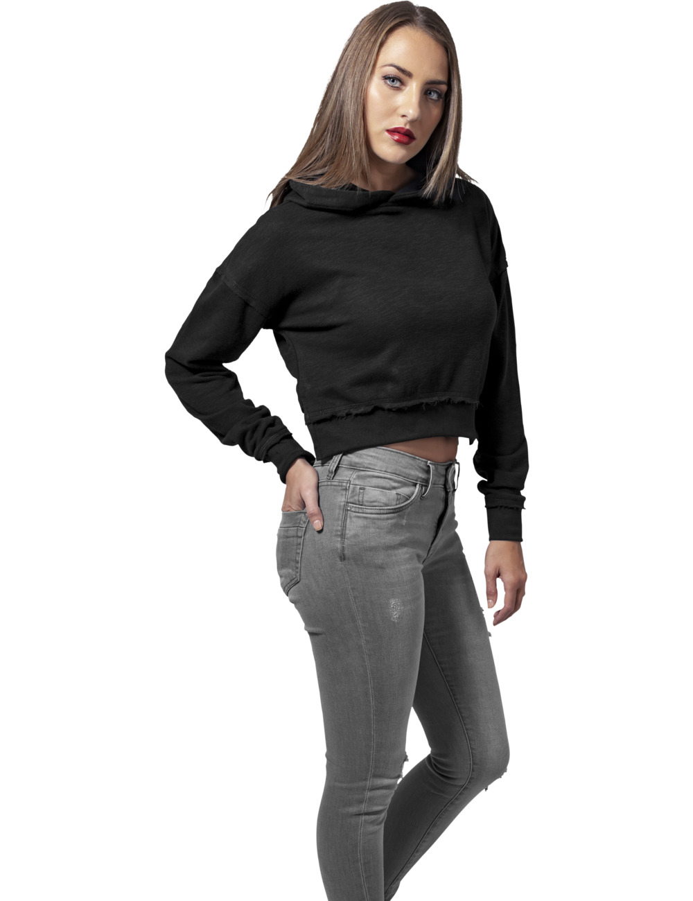urban-classics-damen-sweater-short-slub-terry-hoody