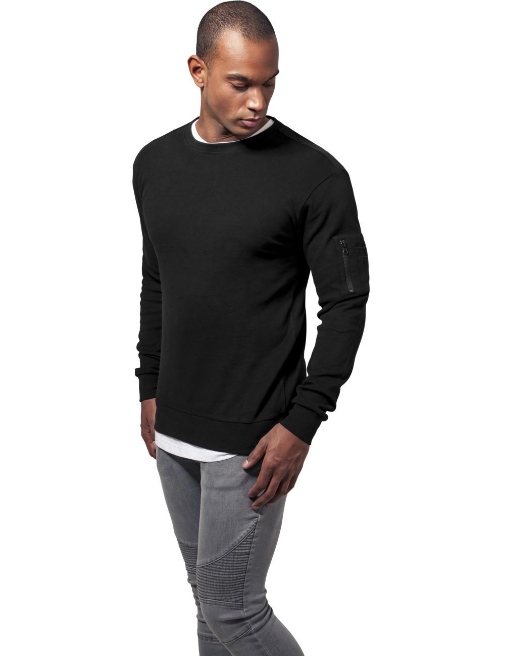 urban-classics-herren-sweater-interlock-bomber-crew