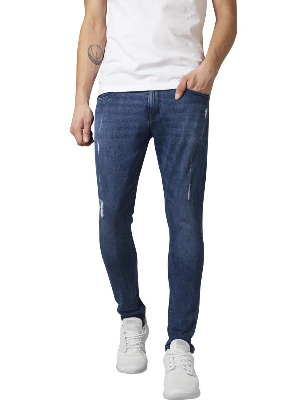 das Neueste afc7a 07463 Urban Classics Herren Jeans Skinny Ripped Stretch - Skinny Fit