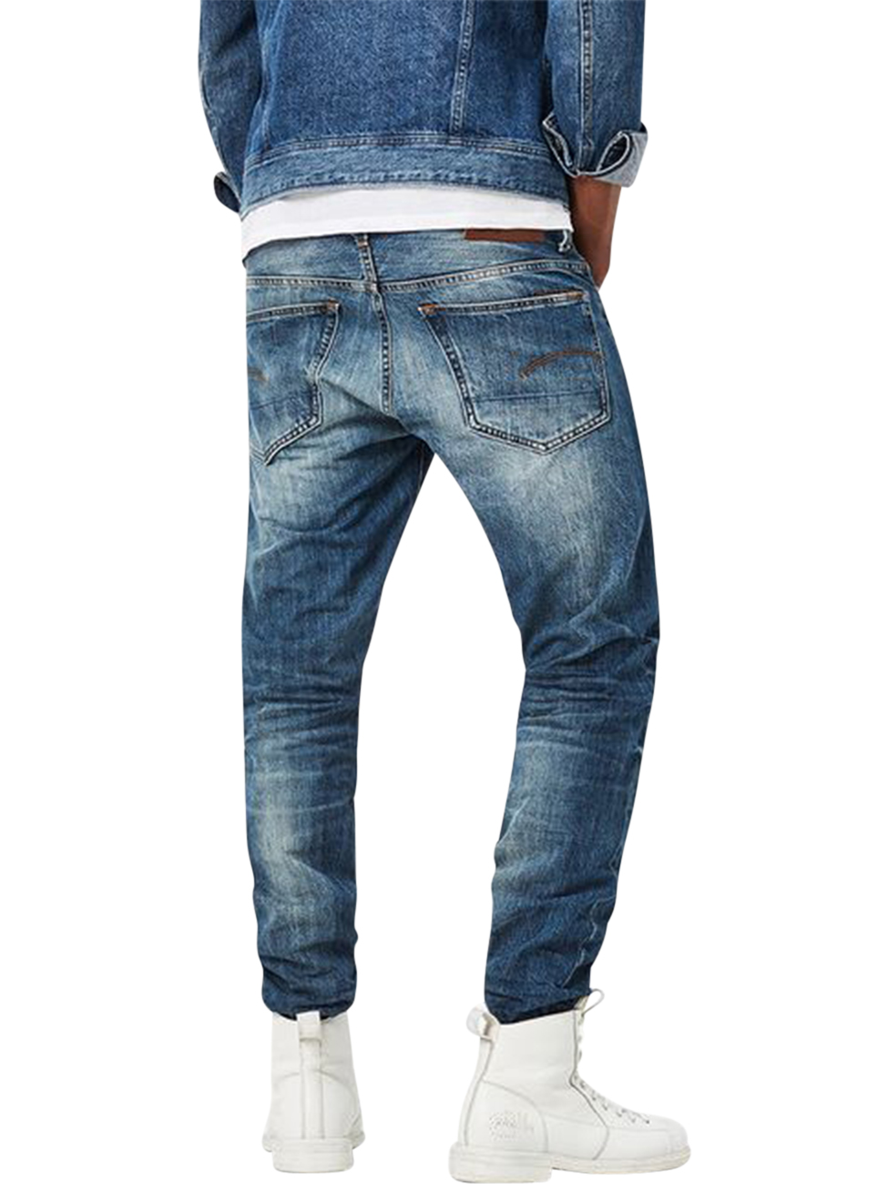 g-star-herren-jeans-3301-tapered-fit-blau-medium-aged