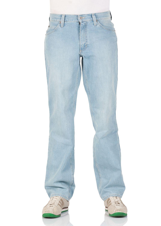 3267ceb1c8d962 Mustang Herren Jeans Tramper - Slim Fit - Blau - Aged Bleached ...