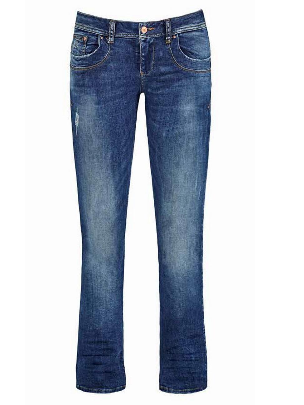 ltb damen jeans valerie bootcut capella wash