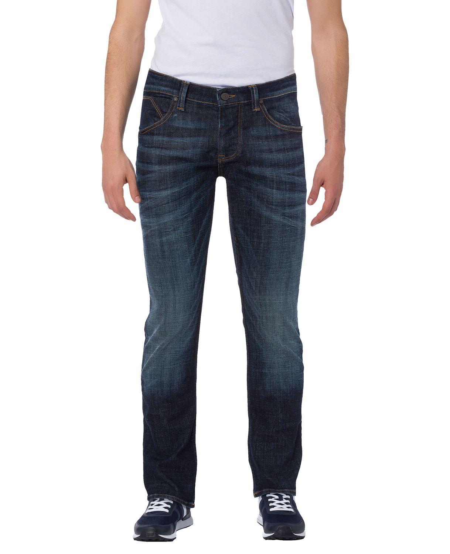 cross jeans herren jeans dylan regular fit blau deep blue kaufen jeans direct de. Black Bedroom Furniture Sets. Home Design Ideas
