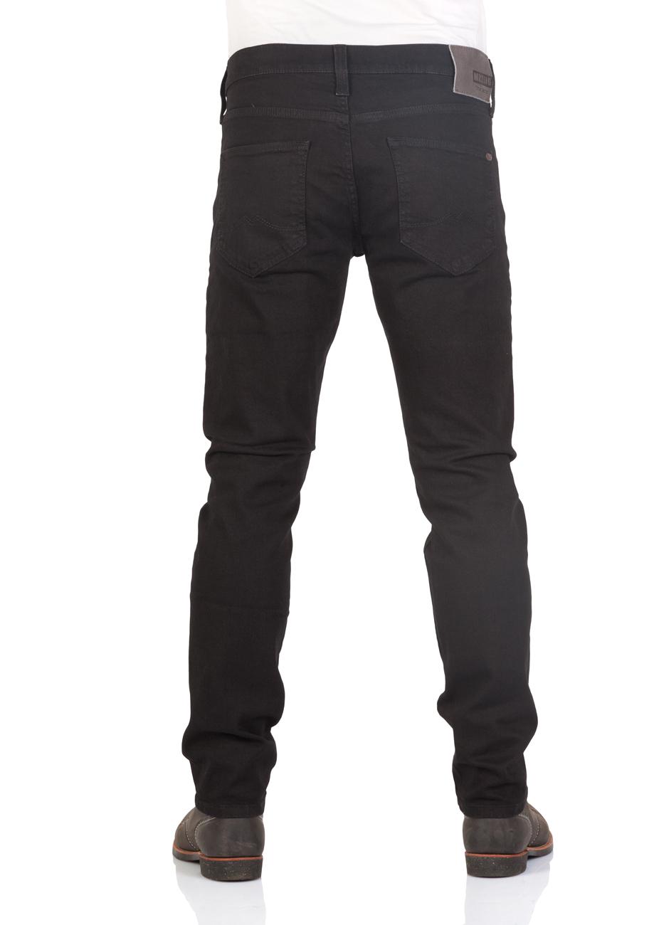 mustang herren jeans oregon tapered schwarz midnight black kaufen jeans direct de. Black Bedroom Furniture Sets. Home Design Ideas