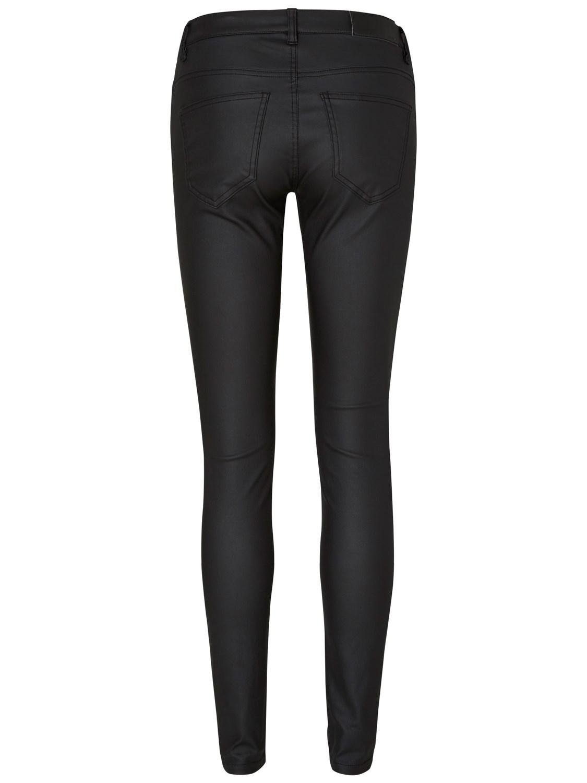 noisy-may-damen-jeans-nmeve-lw-deluxe-coated-pants-super-slim-fit-schwarz-black