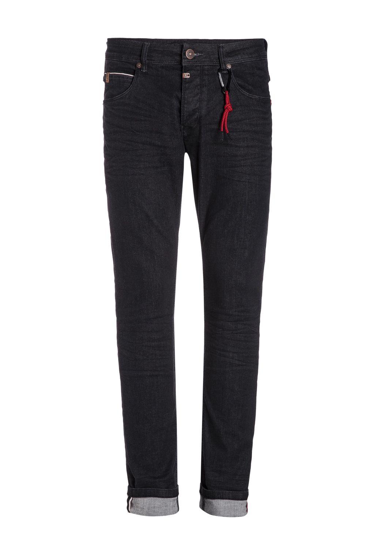 Timezone Herren Jeans 27 10014 Scott X Slim black vintage wash