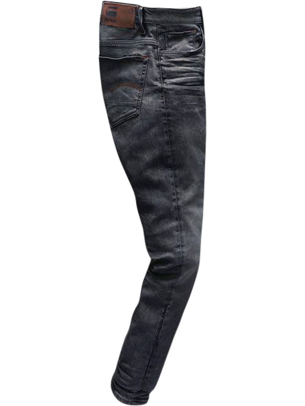g-star-herren-jeans-3301-slim-fit-schwarz-dark-aged-cobler, 119.95 EUR @ jeans