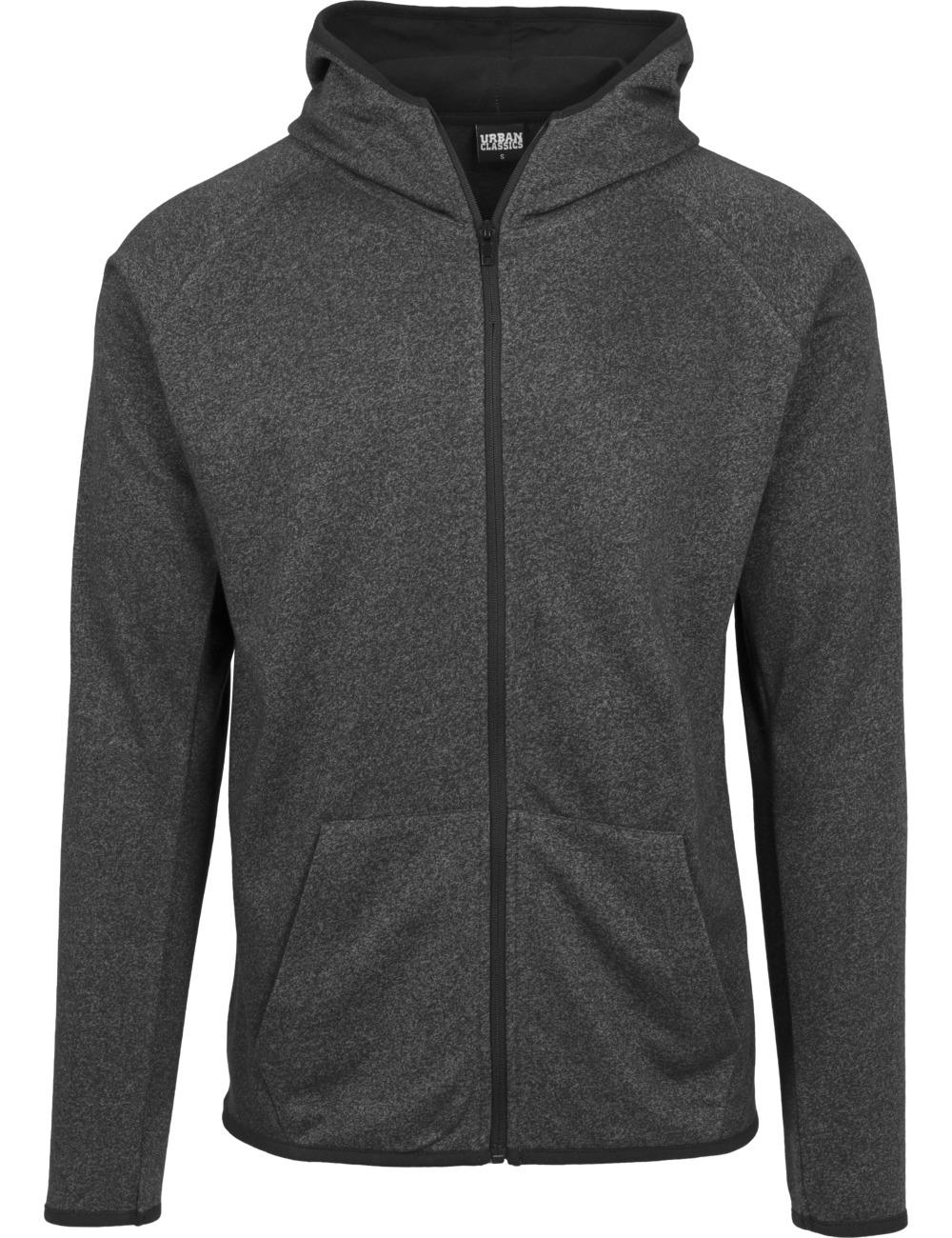urban-classics-herren-sweatjacket-active-melange-zip-hoody