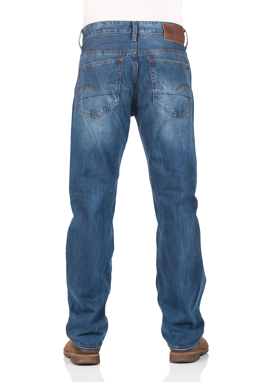 g-star-herren-jeans-3301-loose-fit-blau-medium-aged