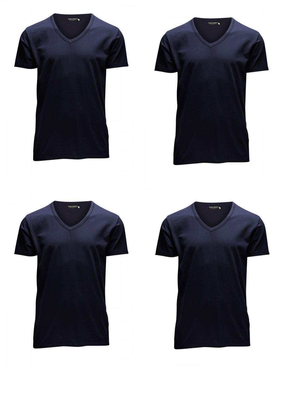 7e437148d25ed5 Jack   Jones Herren T-Shirt O-Neck   V-Neck 4er Pack kaufen - JEANS ...