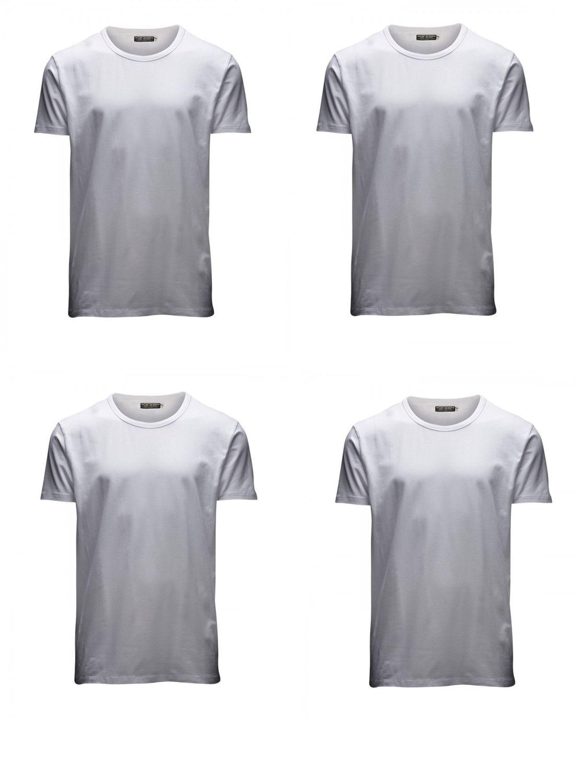 V Jones T Pack Shirt O Neck Jackamp; Herren 4er wiuTXOPkZl