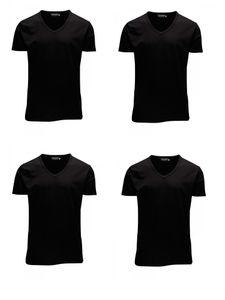 Black (12059219) - V-Neck