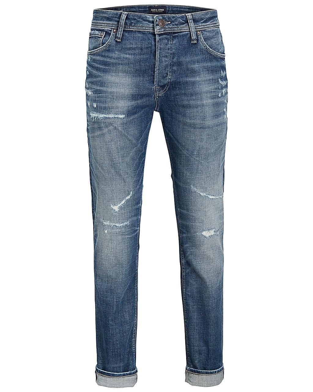 faaa42d35f03b9 Jack   Jones Herren Jeans JJITIM JJORIGINAL JJ 062 AW24 Slim Fit - Blau -  Blue