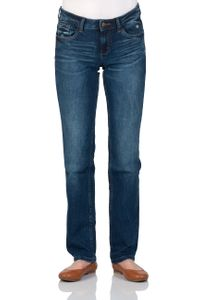 1472f43c789b Tom Tailor Damen Jeans Straight Alexa - Straight Fit - Blau - Mid Stone Wash