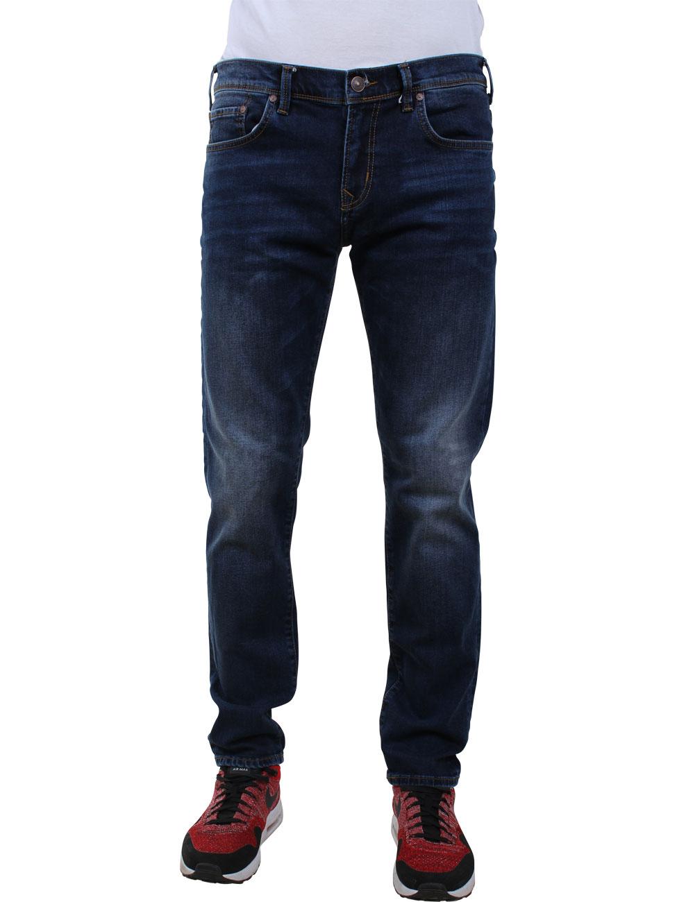LTB Herren Jeans Diego Slim Tapered Fit Blau Hazard Wash