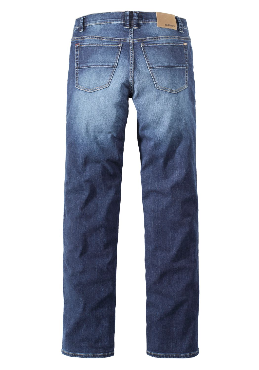 Paddock`s Herren Jeans Ranger - Slim Fit - Blau - Blue Dark Moustache Used